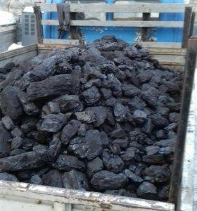 Продам уголь дрова в мешках ,тоннами