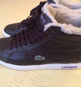 Ботинки зимние Lacoste новые