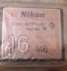 Карта памяти к фотоаппарату Nikon 4300