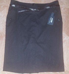 Новая 50 р юбка шерсть