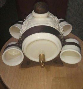 Керамический бочонок для вина. Италия