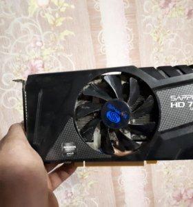 Видеокарта AMD 7770