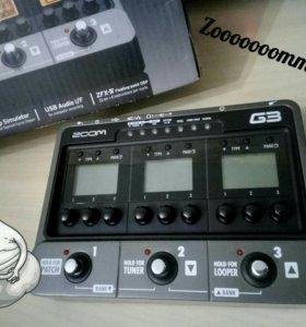 Гитарный процессор Zoom G3