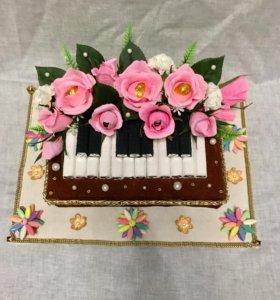 Букет из конфет « пианино»🌸