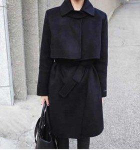 Тёплое пальто (новое)