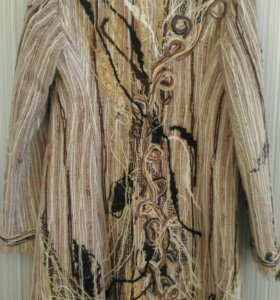 Пальто стильное YUKO вязаное