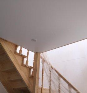 Частный дом и натяжные потолки