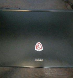 Ноутбук MSI GL72 6QD Core i5 6300HQ nvidia GTX950M