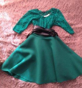 Платье и куртка