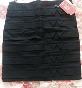 Новая с бирками ! Обтягивающая юбка