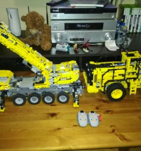 42009 mk lego кран technic