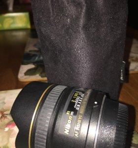 fisheye Nikon 10.5 mm
