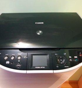 Принтер, сканер, копир Canon pixma MP500