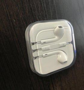 Гарнитура Apple EarPods 3.5mm jack новая
