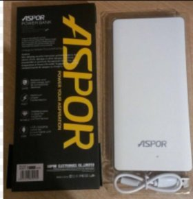 Power bank (внешний аккумулятор) Aspor A341