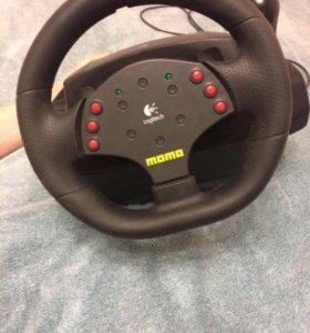 Руль игровой Logitech Momo racing