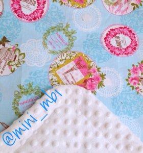 Плед детский, одеяло, конверт на ваписку