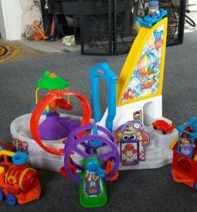 Игровой цирковой модуль