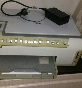 принтер сканер копир струйный hp photosmart c5183