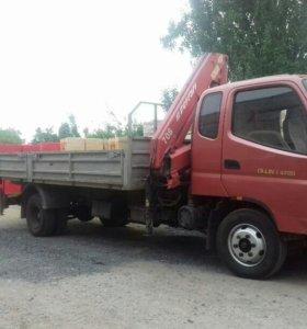 Услуги грузовика с КМУ