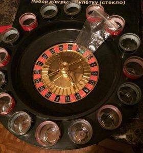 Набор для игры в рулетку (стекло)
