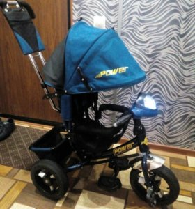 """Б/у 3-х кол.Trike Power Race New(12""""10)JP7LB,синий"""