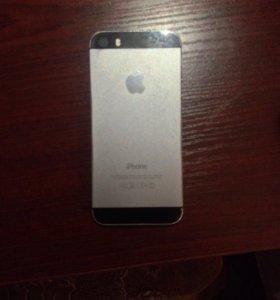 Корпус на iPhone 5S Серебро