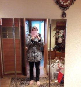 Зимняя куртка для беременной 48-50 р-р