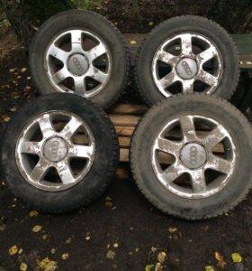 Диски литые шины зима