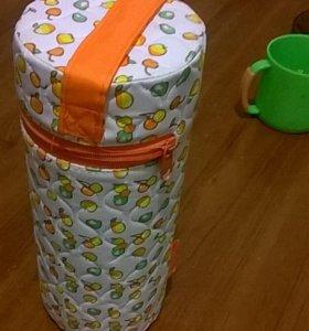 Термос для детских бутылочек, поильник