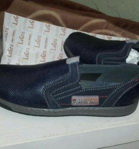 Ботинки или мокасины, новые
