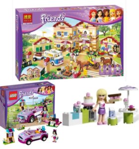 Lego Friends 3 в 1 Покупали все за 7.500
