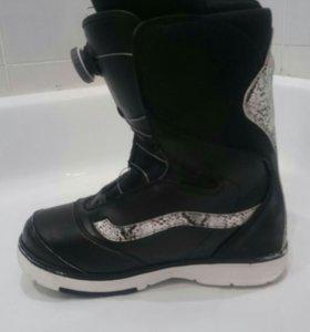 Сноубордические ботинки vans aura