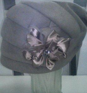 Стильная шапочка, новая.