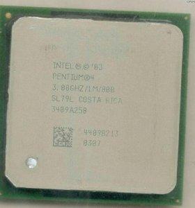 CPU Intel Pentium 4 + кулер