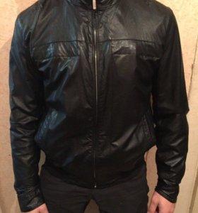 Кожаная куртка мужская Brioni