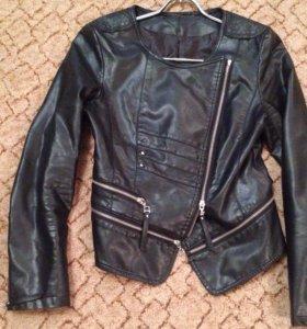 Куртка косуха из кожзаменителя