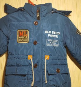 Куртка, зима 5-6 лет.