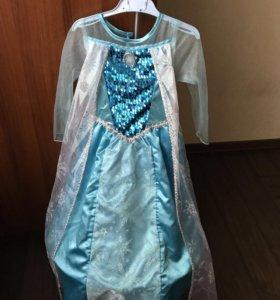 Новогодний костюм Эльзы