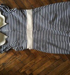 Dress Платье матроска дизайнерское oisie