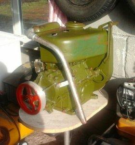 Двигатель уд2с-м1 с редуктором
