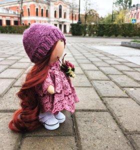 Интерьерная куколка ручной работы