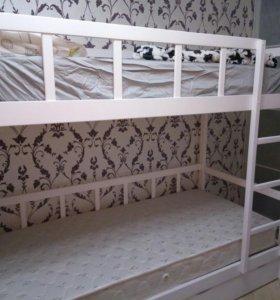 Кровать двухъярусная, ю7