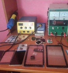 Оборудование для ремонта сотовых телефонов