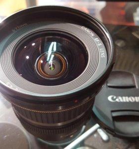 Объектив Canon efs 10-22 mm