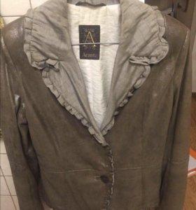 Кожаная куртка Asacta
