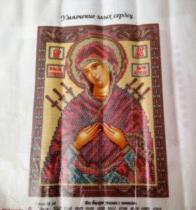 Рисунок на шелке для вышивки бисером