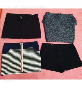 Женские юбки,шорты
