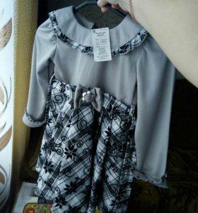 Платье на девочку,новое!
