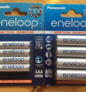 Аккумуляторы Panasonic AA/ааа Eneloop
